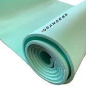 Orange85 Yogamat - Lichtgroen - Sportmat - Fitness mat - Work out - 180x50x0.5 cm