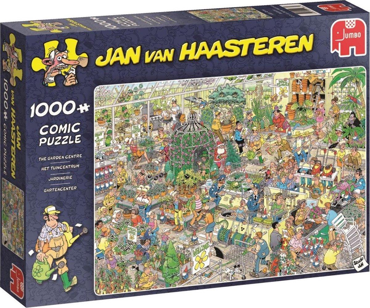 Jan van Haasteren Puzzel - Het Tuincentrum - 1000 stukjes
