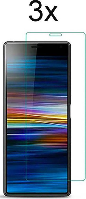 Sony Xperia L3 Screenprotector - 3 x Tempered Glass Screen Protector