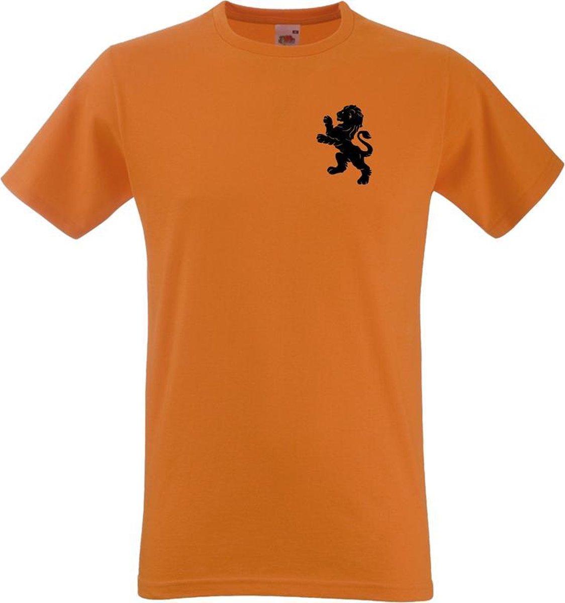 Oranje Heren T-shirt - Koningsdag - EK voetbal - Formule 1