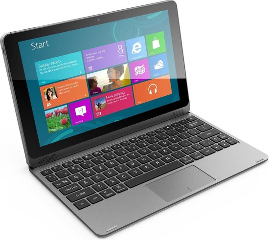 Empire Laptop / tablet 2-in-1 - 16GB SSD - 10.1 inch - HDMI - USB 3.0