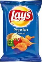 Lay's Chips met Paprika Smaak - doos 20 stuks à 40 gram