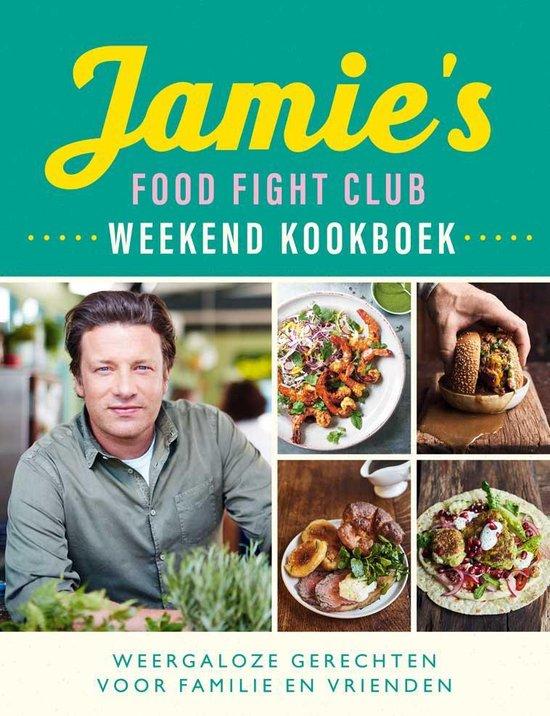 Boek cover Jamies Food Fight Club weekend kookboek van Jamie Oliver (Paperback)