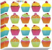Cupcake servetten 20 stuks