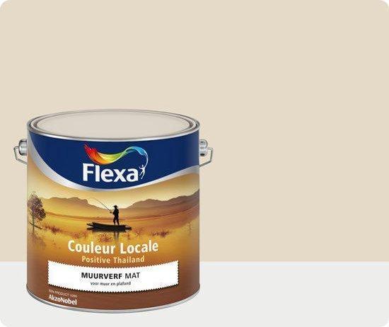 Flexa Couleur Locale - Muurverf Mat - Positive Thailand Breeze - 4075 - 2,5 liter