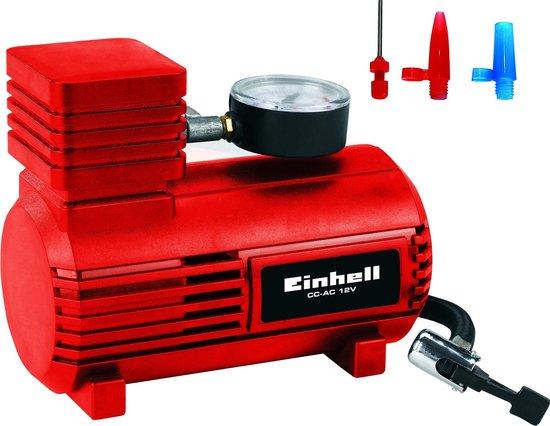 Einhell Auto Compressor 12 V - 18 bar - Inclusief 3 adapters