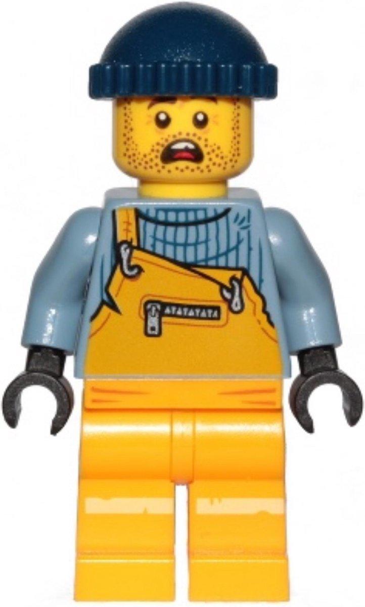 LEGO Hidden Side Jonas Jr. minifiguur HS008