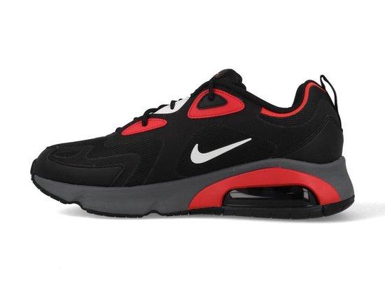 Nike Air Max 200 CI3865-002 Zwart / Rood-44