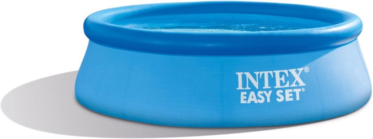 Intex Opblaaszwembad Easy Pool Set 244 X 76 Cm Blauw excl pomp