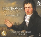 Beethoven Révolution Symphonies 1 to 5 - CD