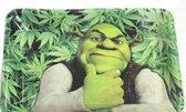 Rolling Tray - Shrek - Cigar rolling tray - Blunt rolling Dienblad