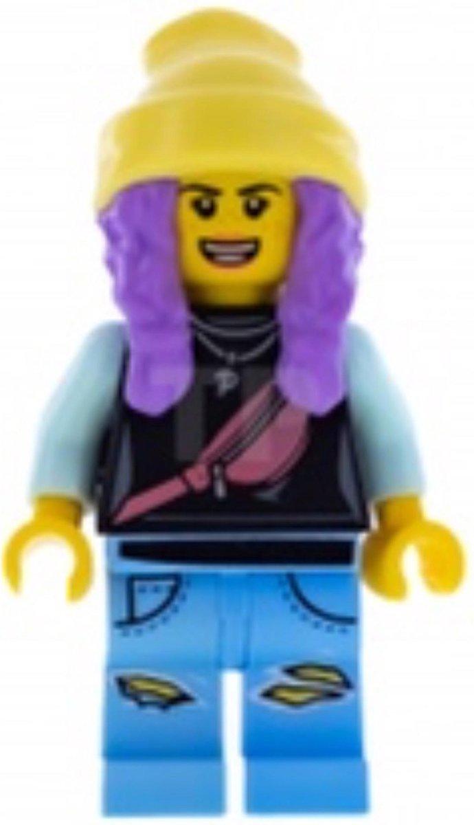 LEGO Hidden Side Parker L. Jackson minifiguur HS003