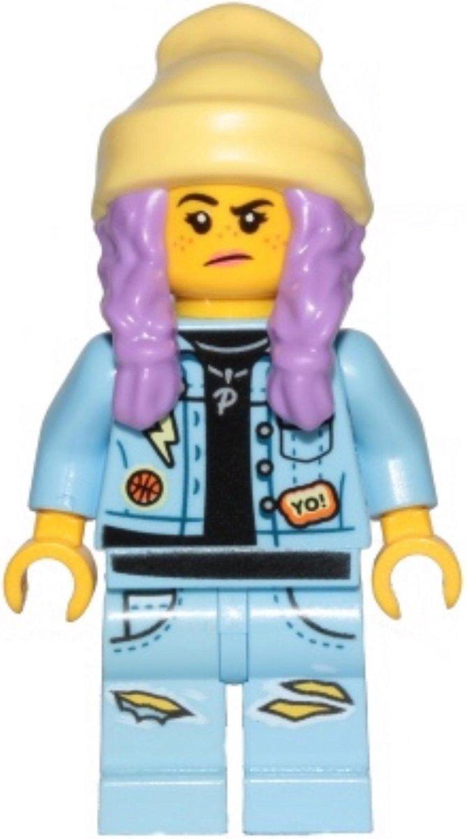 LEGO Hidden Side Parker L. Jackson minifiguur HS011