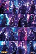 Avengers Infinity War Heroes Poster 61x91.5cm