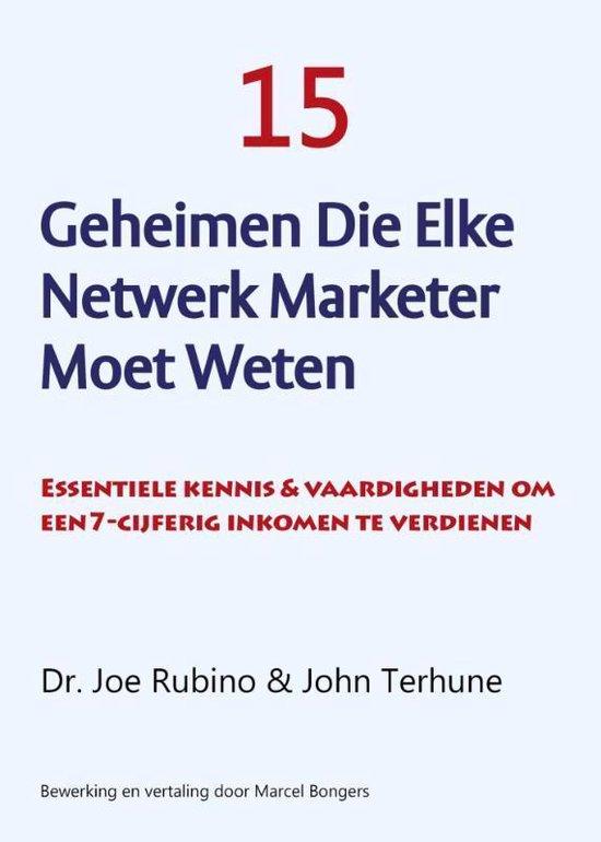 15 Geheimen die elke netwerk marketer moet weten - Joe Rubino  