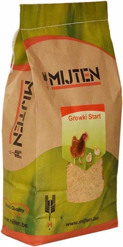 Kuikenmeel - Kuikenopfokmeel - Kuikenvoer - Growki Start 5 kg