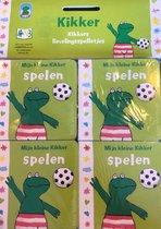 Boek cover Uitdeelboekjes Kikkers Lievelingsspelletjes van Max Velthuys (Hardcover)