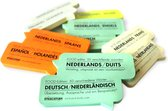 Stick and Study - Duits leren met sticky notes! - 50 vel - NEDERLANDS / DUITS - Food editie -