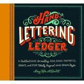 Hand Lettering Ledger - Chronicle Books