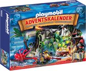 "PLAYMOBIL Christmas Adventskalender ""Schattenjacht in de Piraten-inham"" - 70322"