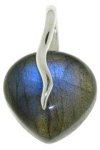 SilverGems Zilveren hanger met Labradoriet edelsteen