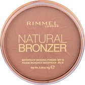 Rimmel London Natural Bronzer Powder - 26 Sun Kissed