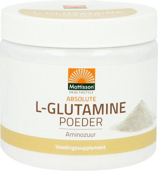 Mattisson L-Glutamine poeder - 250 gram