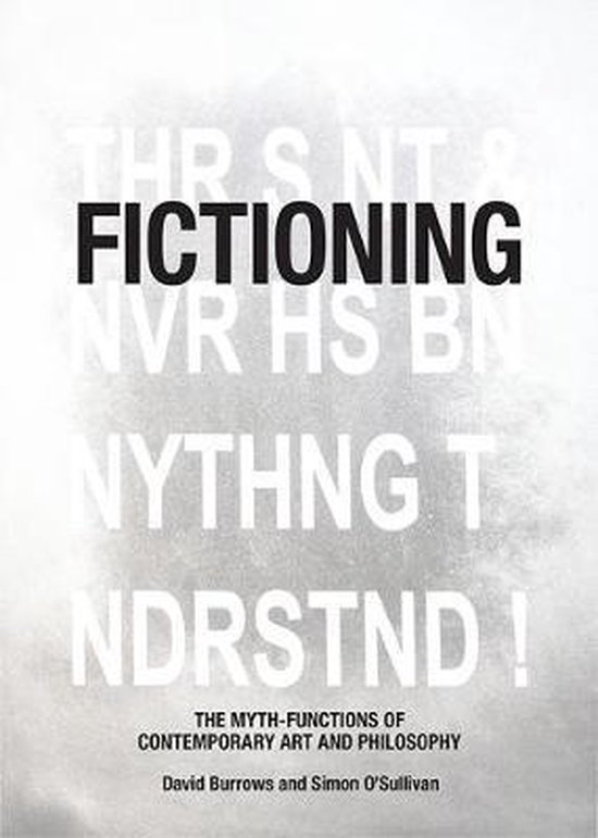 Boek cover Fictioning van David Burrows (Paperback)