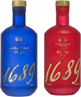 1689 Dutch Dry & Pink Gin Twee Pak 2 x 70cl