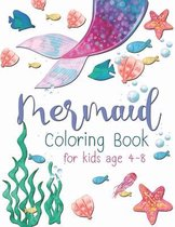 Mermaid Coloring Book For Kid