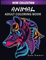 Animal Adult Coloring Book