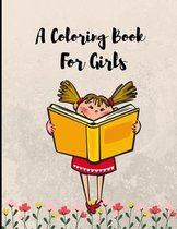 A Coloring Book for Girls