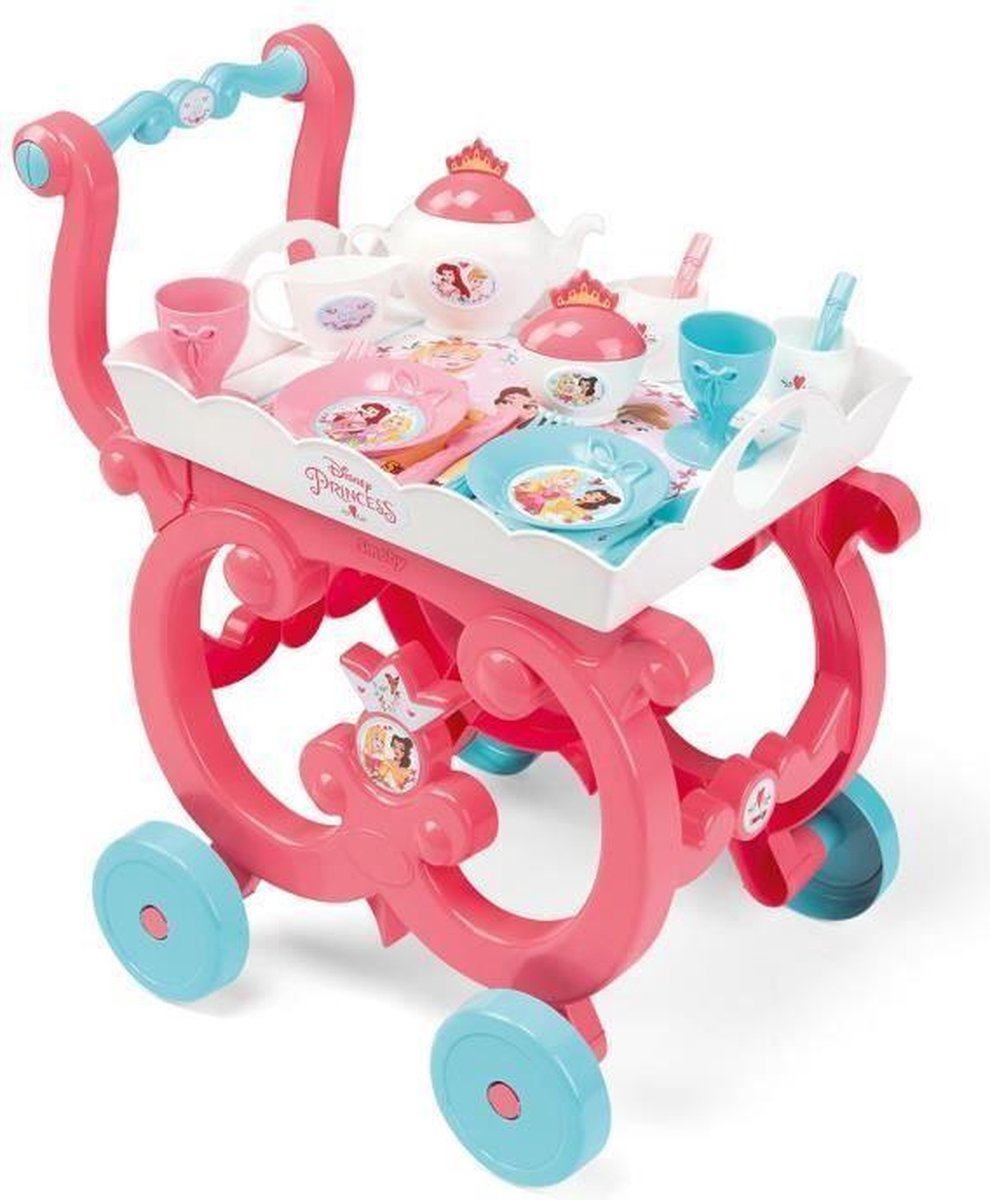 DISNEY PRINSES Smoby XL-trolley + accessoires