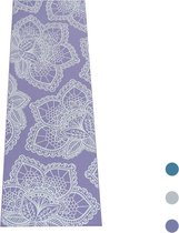 Love Generation Design Yoga Mat ●  Lotus Print ● Paars