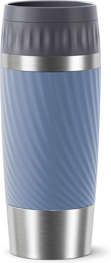 Tefal Travel Mug Easy Twist Thermobeker - Blauw - 0,36 liter