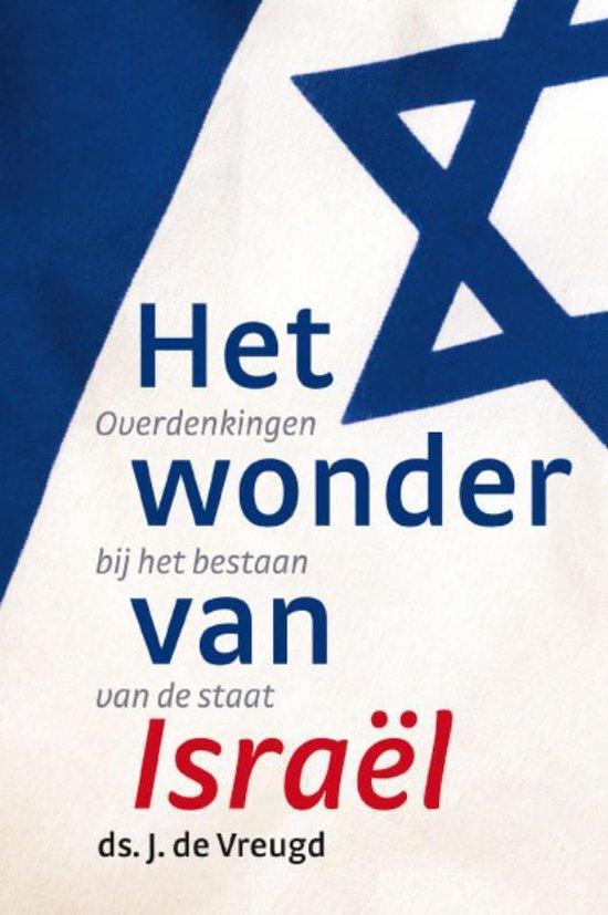 Cover van het boek 'Het wonder van Israël'