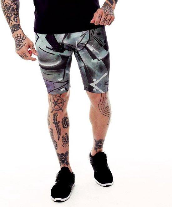Heren – sportbroek – hardloopbroek – running shorts – Design Trun – Maat S