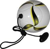 Techniekbal maat 2 - mini trainingsbal met koord en handgreep - mini bal voor thuis