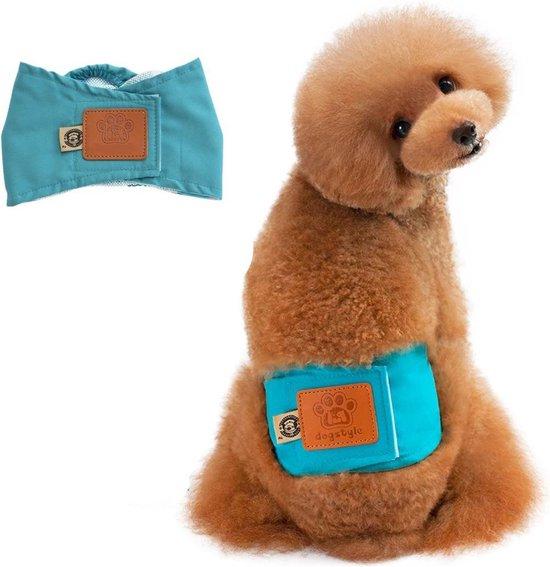 Hondenluier voor kleine hond - Luier voor reu - Buikband maat M (34 tot 37CM)