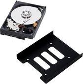 SSD harde schijf Bracket Adapter - 2.5 inch naar 3.5 inch - Inclusief 8 schroefjes - Universeel