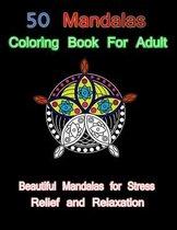 50 mandalas coloring book for adult