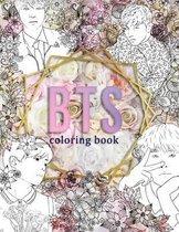 BTS Coloring Book