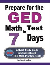 Prepare for the GED Math Test in 7 Days