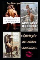 Antologia de relatos romanticos. tres libros que te enamoraran