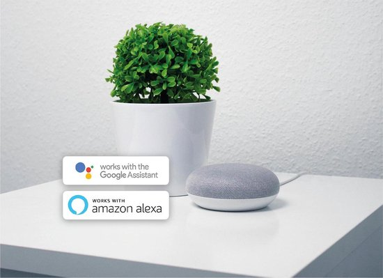 Apaga Universele Afstandsbediening - IR Smart Control - Infrarood Ontvanger - Werkt met Google Home en Amazon Alexa - Bestuur eenvoudig je airco , TV en andere huis apparaten (WiFi)