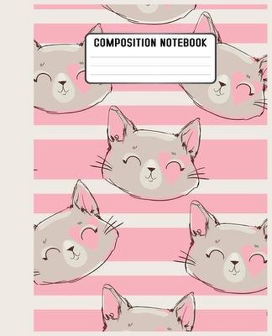 Composition Notebook: lovers or for those who just love a cute and artistic cover design book for notebook