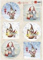 Marianne Design • Decoupage Hetty's winter gnomes 10 vel