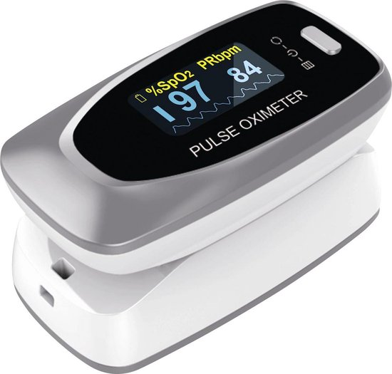 Contec CMS50D1 Saturatiemeter Professioneel Beste Getest - Wit