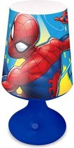 Marvel Tafellamp Spider-man Jongens Abs 18 Cm Rood/blauw