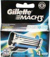 Gillette Mach3 - 4 stuks scheermesjes